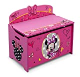 Delta Children Deluxe Toy Box, Minnie