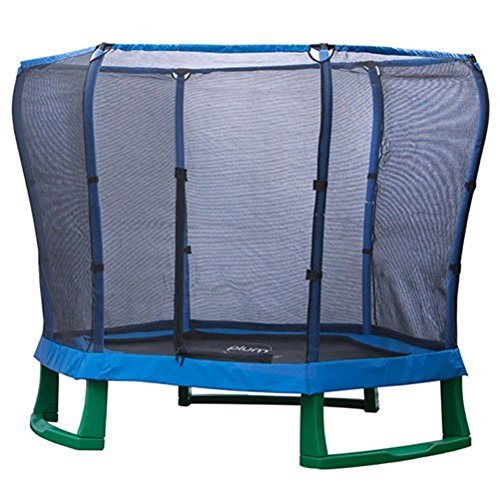 Plum Products Pullover 2.13 meters Junior-Trampolin und Gehäuse (blau/grün) günstig online kaufen