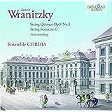 アントン・ヴラニツキー:弦楽のための室内楽曲集