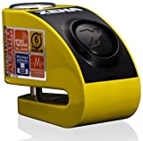 XENA (XZZ6L-Y) Disc-Lock Alarm for Micro Scooter, Yellow
