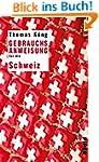 Gebrauchsanweisung f�r die Schweiz: U...