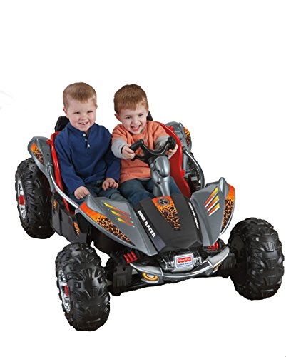 Fisher-Price Power Wheels Dune Racer - Lava Red & Black