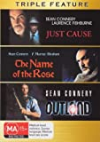 Sean Connery Collection - 3-DVD Set ( Just Cause / The Name of the Rose / Outland ) ( Der Name der Rose / Le nom de la rose / Il nome della rosa )