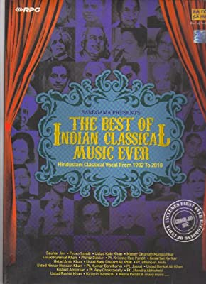 The Best Of Indian Classical Music Ever - Hindustani Classical Vocal From 1902 To 2010 (Set Of 14 CDs / Includes First Ever Recording Of India - Gauhar Jan - 1902)