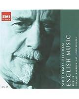 Sir Thomas Beecham :  English Music (Coffret 6 CD)