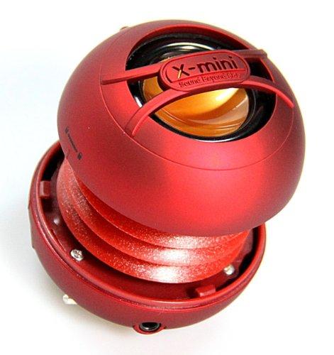 X-Mini Uno Xam14-R Portable Capsule Speaker, Mono, Red