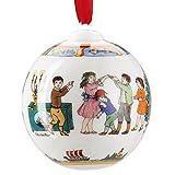 Hutschenreuther 02252-722978-27940  limitierte Weihnachtsdekoration Porzellan, 8 x 15 x 12 cm, weiß