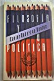 img - for Filosofia y politica (Ediciones de bolsillo) (Spanish Edition) book / textbook / text book