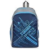 #6: Lutyens Polyester Blue Grey School Bag(17 Litre)(Lutyens_272)
