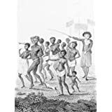 Group of Negroes, as imported to be sold for slaves, by William Blake (Print On Demand)