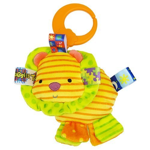 Taggies Friends for Me Lion Baby Toy - 1