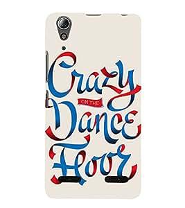 99Sublimation Crazy On Dance floor 3D Hard Polycarbonate Back Case Cover for Lenovo A6000 Plus