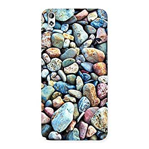 Water Pebbels Multicolor Back Case Cover for HTC Desire 816g