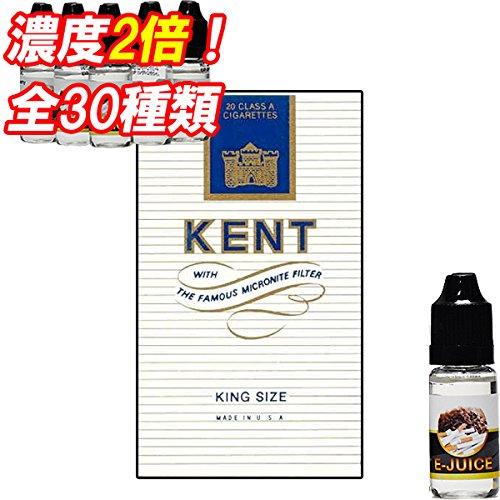 濃度2倍 ダブルリキッド 人気の レッドブル ドリンク から フルーツ スイーツ ミント メンソール タバコ 味 まで 全30種類 電子タバコ リキッド E-JUICE liquid ジュース VAPE アトマイザーに (W ケント)