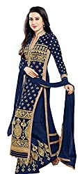 Mahaveer Fashion Women's Dress Material (9872_30_5700602_Blue_Free Size)