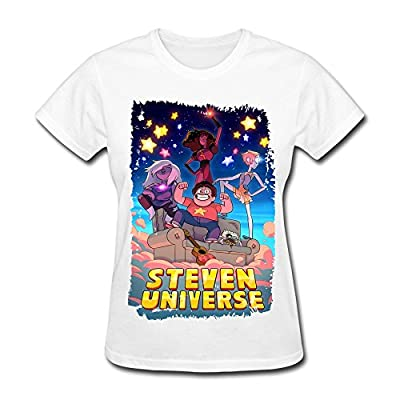 ZJNEW Women's Steven Universe Theme Cover Art T-Shirt