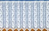 White Cafe Net Curtain