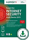 Kaspersky Internet Security 2015 Multi Device - 3 User - 1 Year [PC Download]
