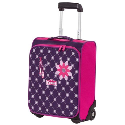 Scout Reisetasche Kindergepäck, 21 Liter, Lila