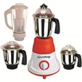 Speedway 600 Watts MG16-43 Red And White 4 Jars Mixer Grinder Direct Factory Outlet