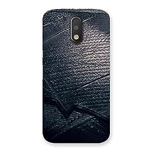 Ajay Enterprises Knight Suit Black Print Back Case Cover for Motorola Moto G4 Plus
