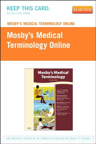 Mosby's Medical Terminology Online - Retail Pack, 1e