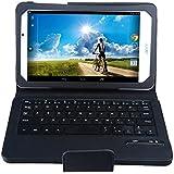 IVSO Acer Iconia A1-840 FHD Bluetooth Keyboard Portfolio Case - DETACHABLE Bluetooth Keyboard Stand Case / Cover for Acer Iconia A1-840 FHD Tablet (Black)