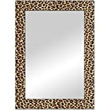 The Attic Riverton Mirror Frame (Glossy Finish, Brown)