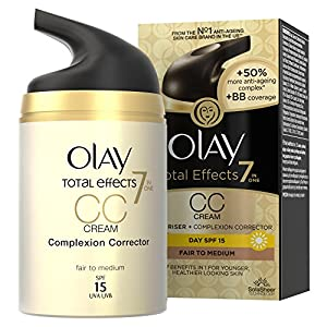 Olay Total Effects 7in1 CC Cream Moisturiser Fair To Medium 50 ml