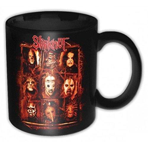 Slipknot-Tazza, colore: rosso ruggine