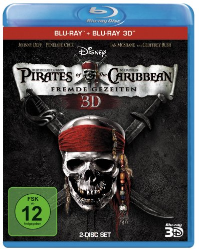 Pirates of the Caribbean: Fremde Gezeiten (+ Blu-ray 3D) [Blu-ray]
