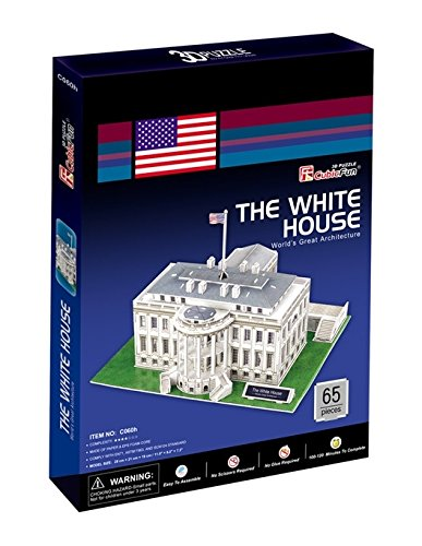 Daron CF060H White House 3D Puzzle