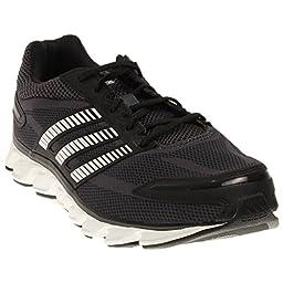 adidas Performance Men\'s Powerblaze M Running Shoe, Black/White/Bold Onix, 9.5 M US
