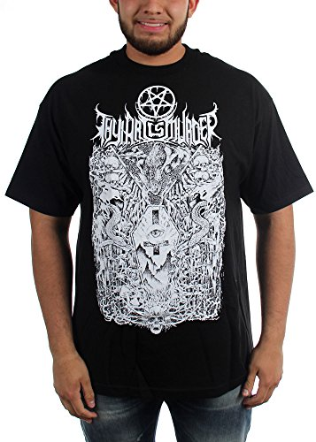 Thy Art Is Murder-Bara-Maglietta da uomo nero Small