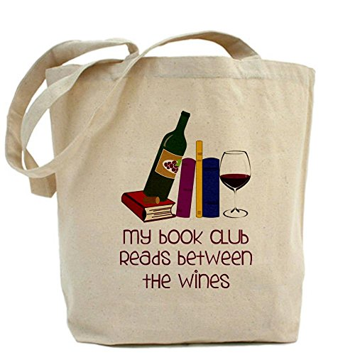 CafePress My Book Club Tote Bag Wine Lover - Standard Multi-color