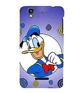 EPICCASE Lovely Donald Mobile Back Case Cover For YU Yureka Plus (Designer Case)