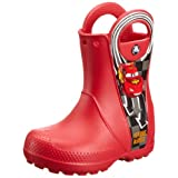 CROCS Infants - HANDLE IT MCQUEEN RAIN BOOT - red