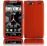 Motorola XT913/XT916 Droid Razr Maxx Rubberized Cover - Orange