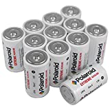 Polaroid C Cell Extreme Performance Alkaline Batteries (12-Pack) 1.5 Volt