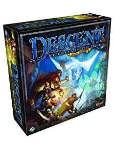 Descent: Journeys in The Dark Second Edition Board Game by Fantasy Flight Games