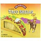 Bearitos Yellow Corn Taco Shells, 5.5-Ounce (Pack of 12)