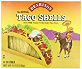 Bearitos Yellow Corn Taco Shells, 12 Count (Pack of 12)