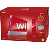 Nintendo Wii Console (Red) with Wii Sports plus New Super Mario Bros and Motion Plus Controller (Wii)by Nintendo