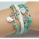 Fashion Charm Suede Wrap Bracelet Set – $4.48!