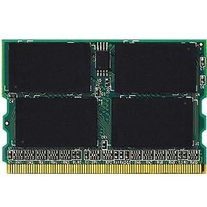 エレコム RoHS指令準拠メモリモジュール PC2-4200 DDR2-533 172Pin MicroDIMM 1GB ETM533-1G/RO