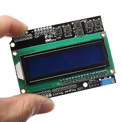 Kingso®1602 Lcd Board Blue Backlight Keypad Shield For Arduino Duemilanove Robot