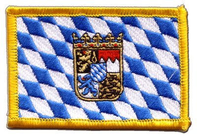 germany-bavaria-with-coat-of-arms-flag-embroidered-iron-on-patch