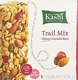KASHI BAR GRNLA TRAIL MIX 6PK, 7.4 OZ