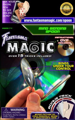 Fantasma Toys Mindbending Spoon with DVD (Spoon Bending compare prices)
