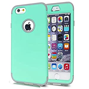 6S,6 Case,6S Case,6 Cases,iPhone 6S Case,6 4.7 Case,Creativecase fashion 3in1 Hybrid Style hard PC outer shell with soft Design 6S Case Cover for iPhone 6S/6 4.7 inch